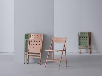 Robin aluminium folding chair