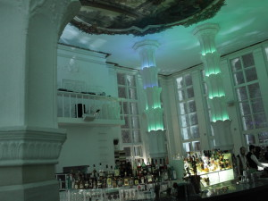 TIME OUT bar Moscow designed by Maarten Baptist