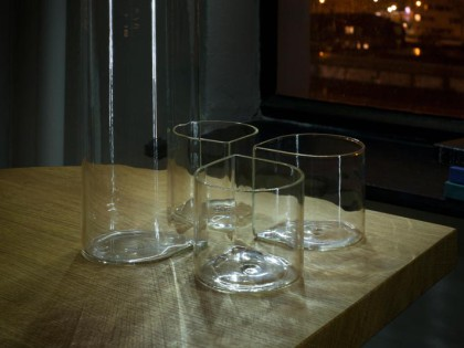 Four leaf clover glasses