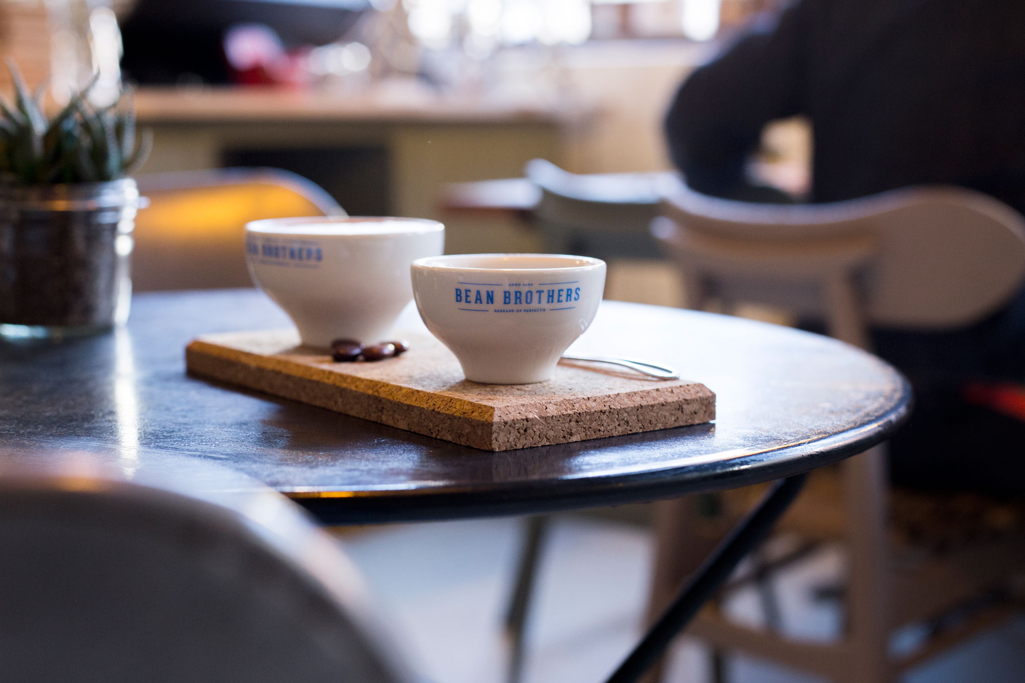 Bean Brothers JADE coffee cups presentation at DDW 2015