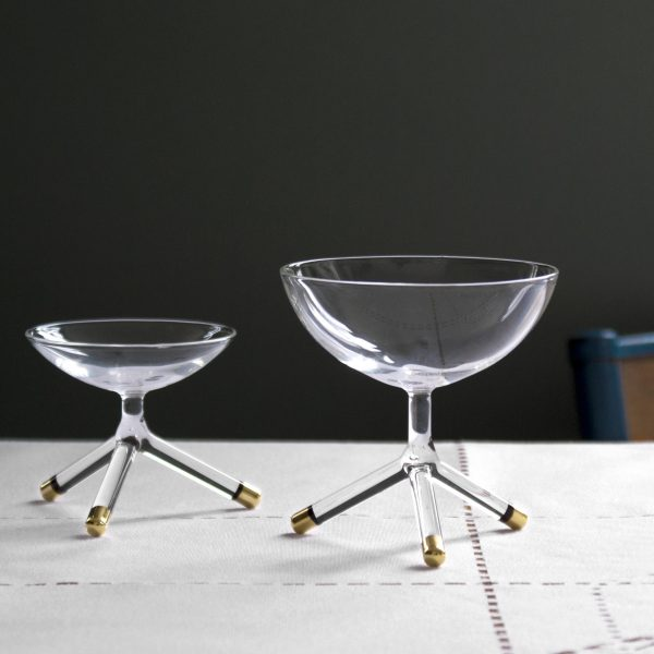 Limited edition Golden Tripod bowls